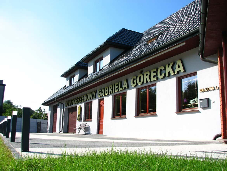 Główna siedziba Zakładu Pogrzebowego Gabriela Górecka