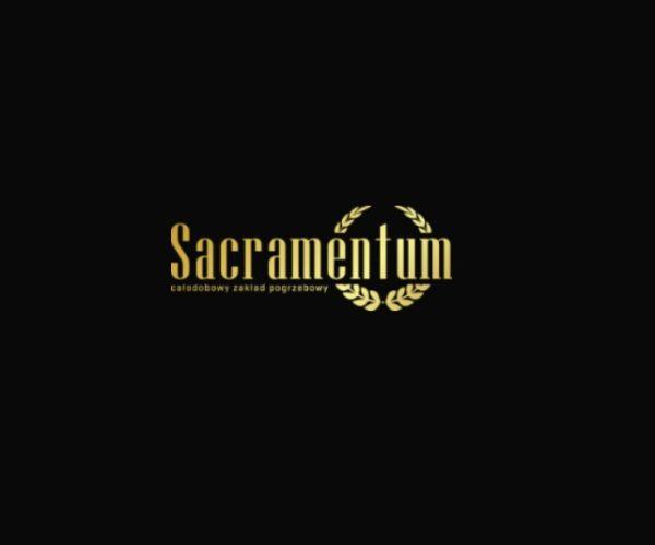 Logo Zakładu Pogrzebowego Sacramentum