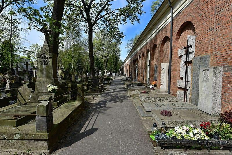 Aleja Zasłużonych - Cmentarz Powązki