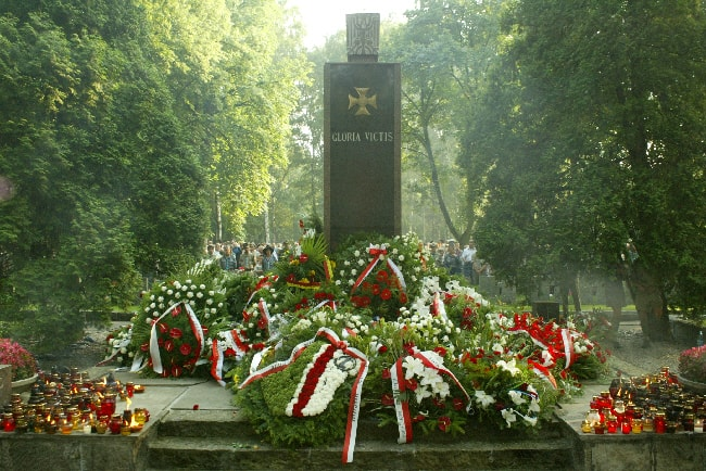 Pomnik Gloria Victis Powązki Wojskowe