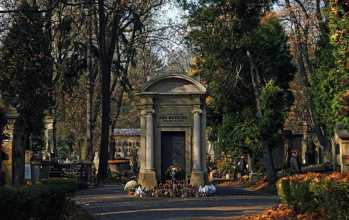 Grób Jana Matejki - cmentarz rakowicki kraków