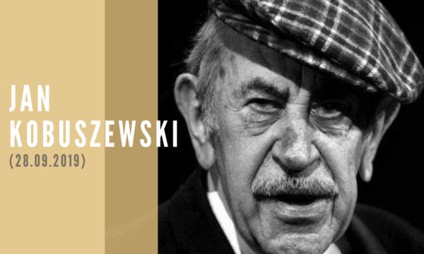 Wspomnienie rocznicy śmierci Jana Kobuszewskiego