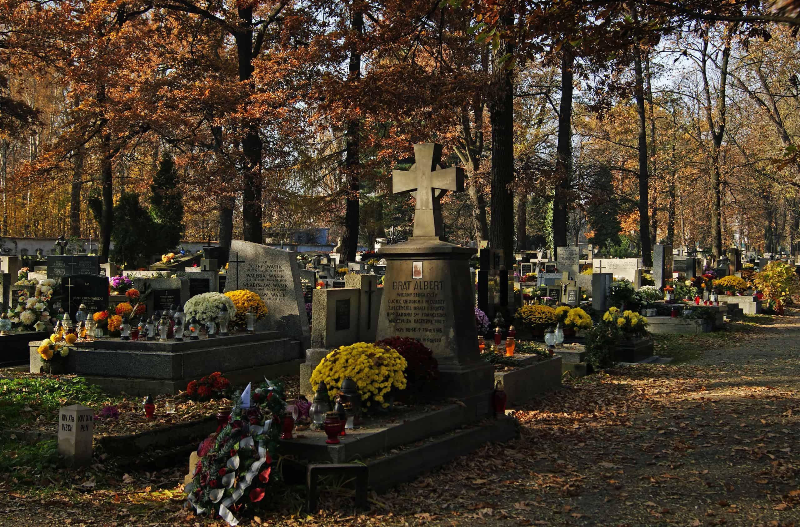 Grób św brata alberta cmentarz rakowcki kraków