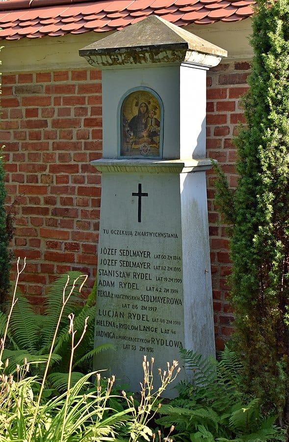 Nagrobek lucjana rydla cmentarz rakowicki