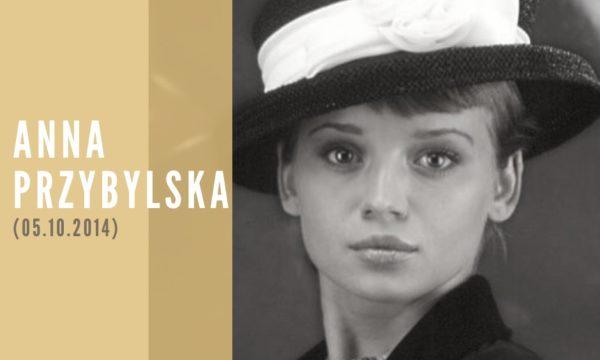 Anna Przybylska portret