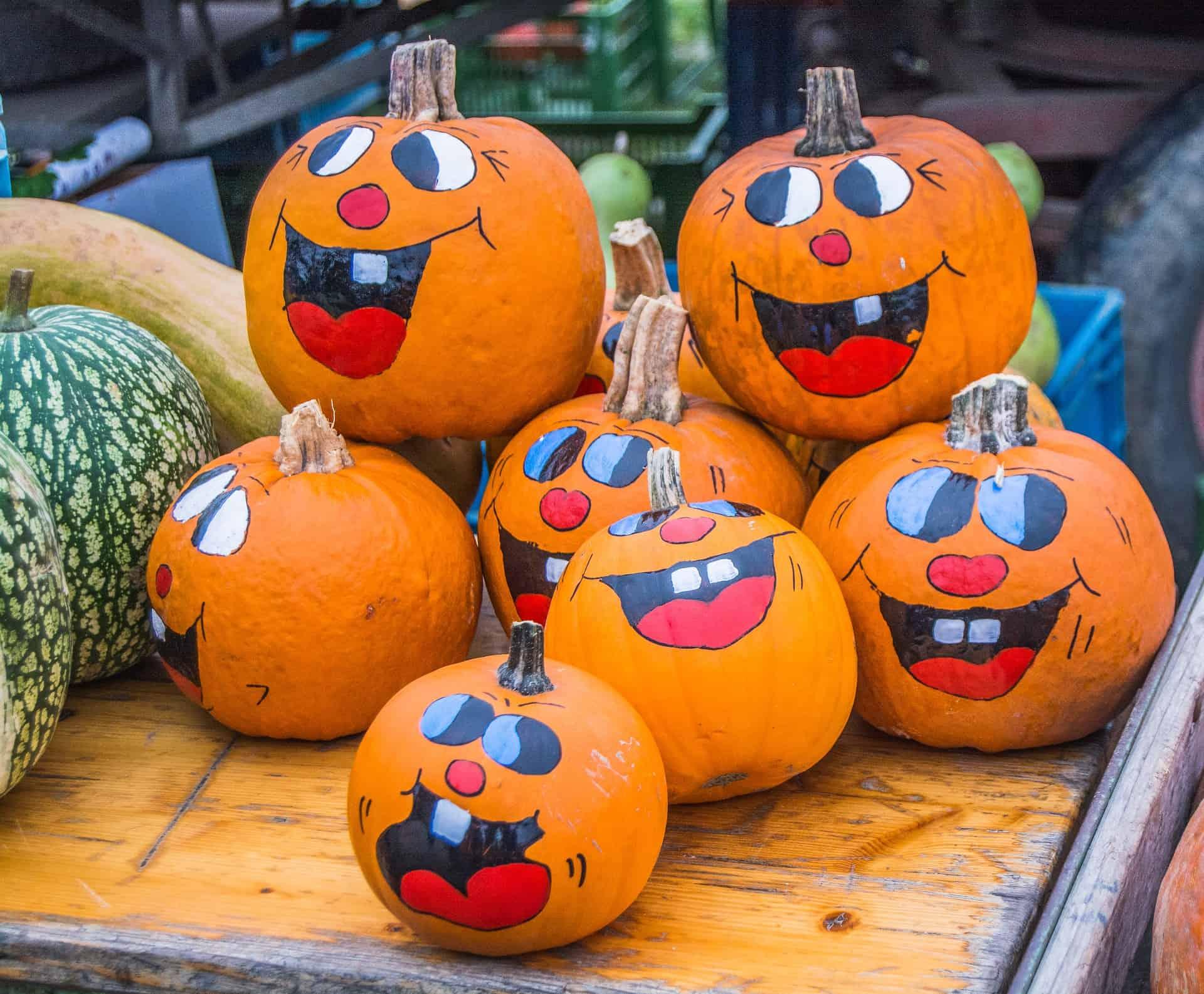 Dynie Halloween - zwyczaje listopadowe wróżnych krajach - pogotowie pogrzebowe
