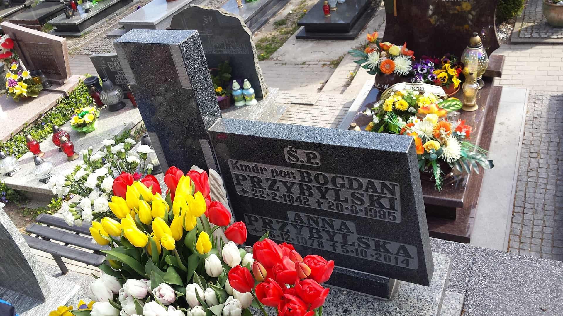 Grób Anny Przybylskiej
