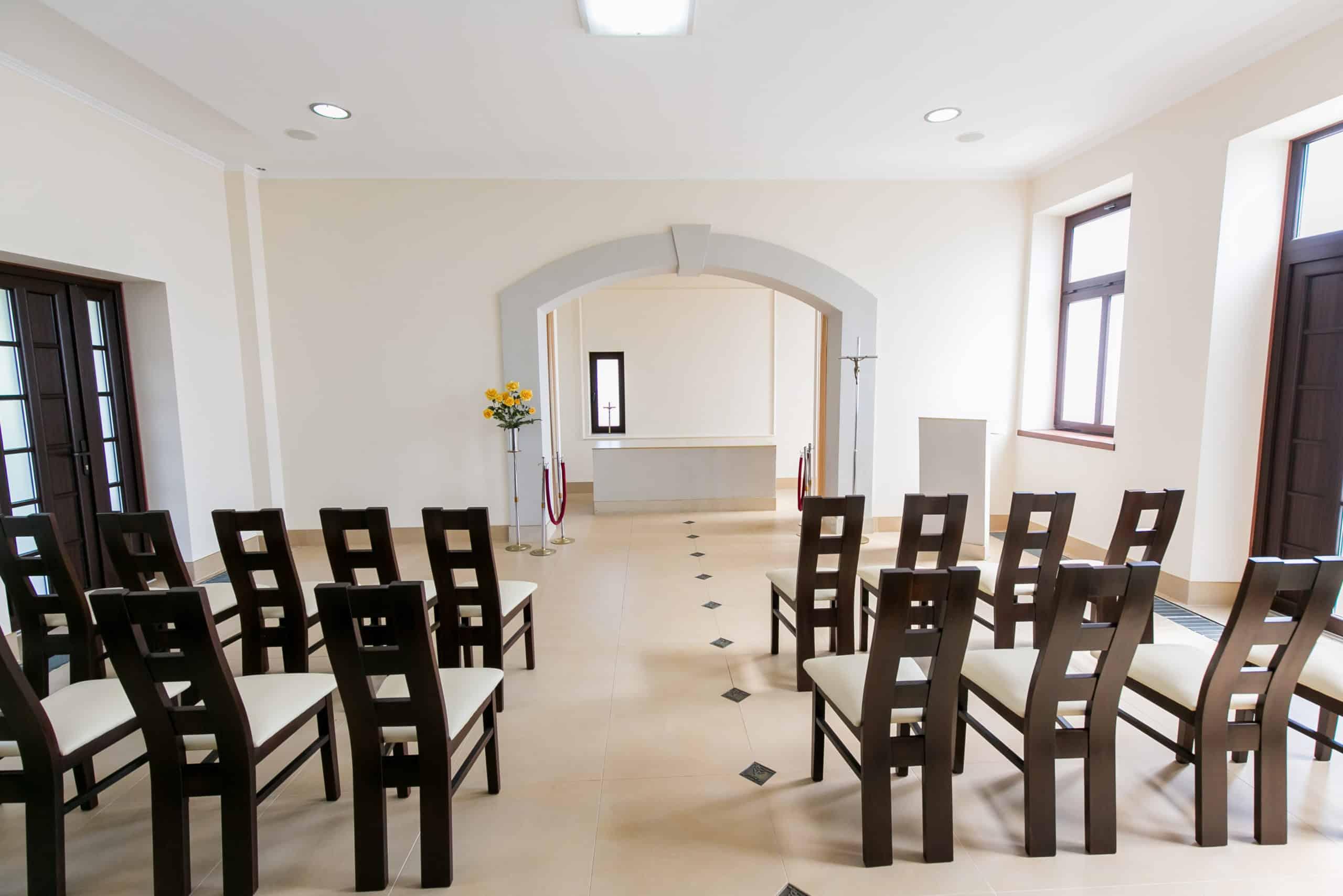 Kaplica Pożegnań Zakład Pogrzebowy Gójscy