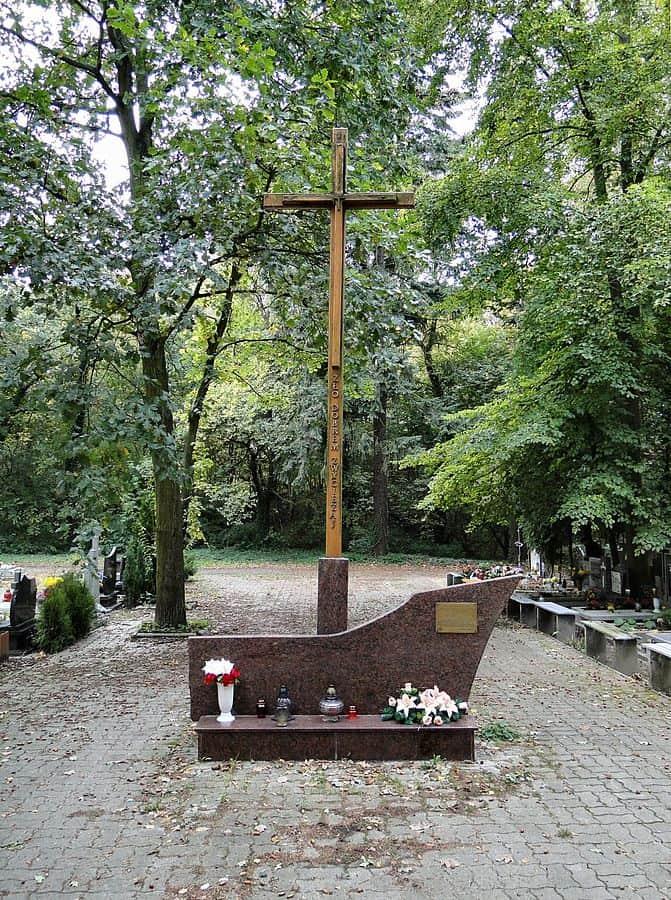Krzyż Męczeństwa Narodu Polskiego - cmentarz centralny wszczecinie