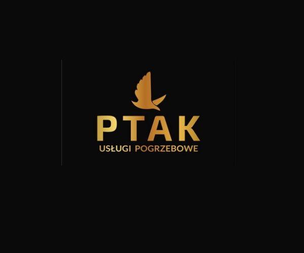 Logo Zakładu Pogrzebowego PTAK