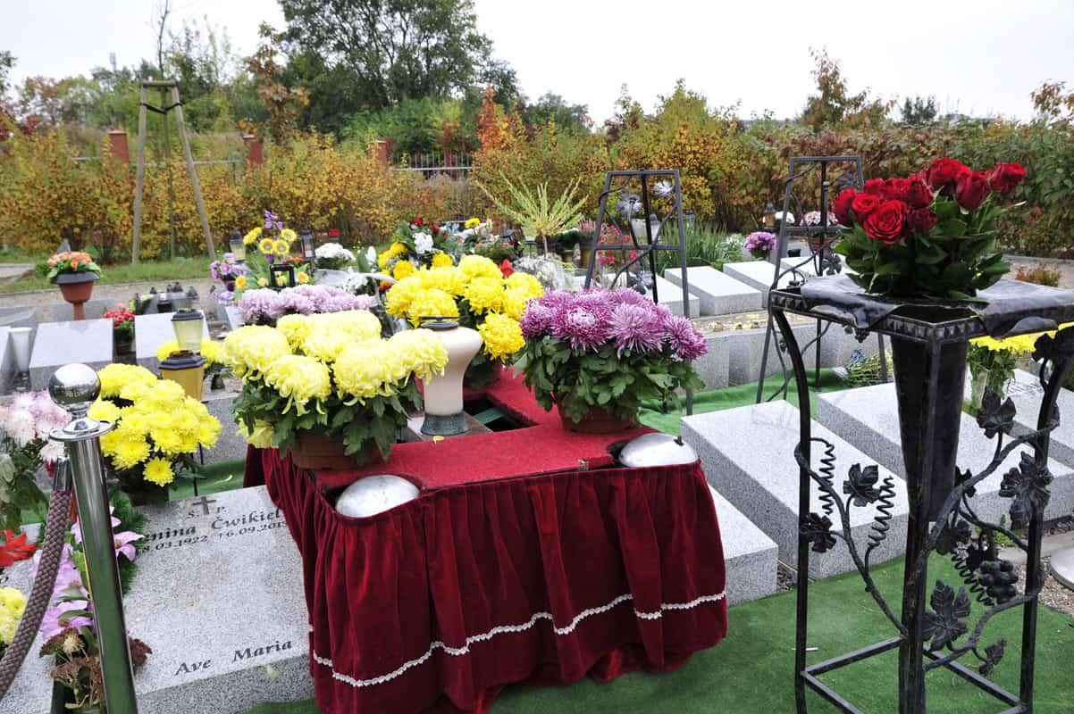Pochówek urnowy zakładu pogrzebowego heven