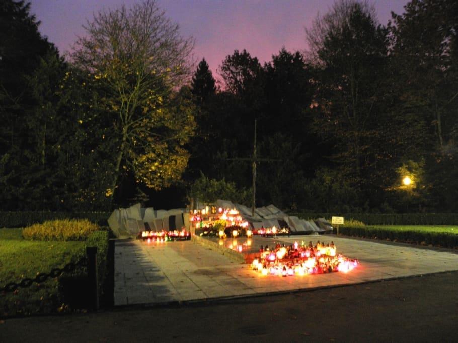 Pomnik poświęcony tym co niepowrócili cmentarz centralny wszczecinie