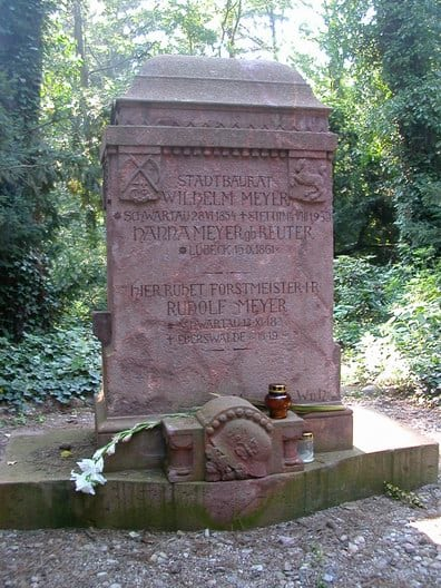 Pomnik rodziny WMS cmentarz wszczecinie