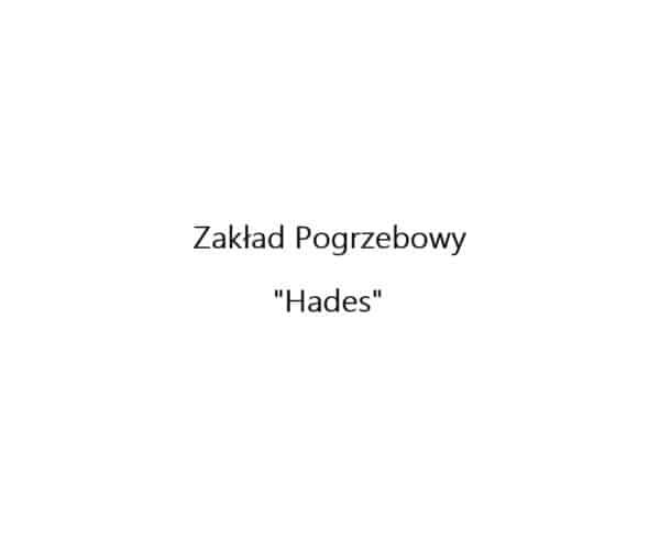 Logo Zakładu Pogrzebowego Hades Szczecinek