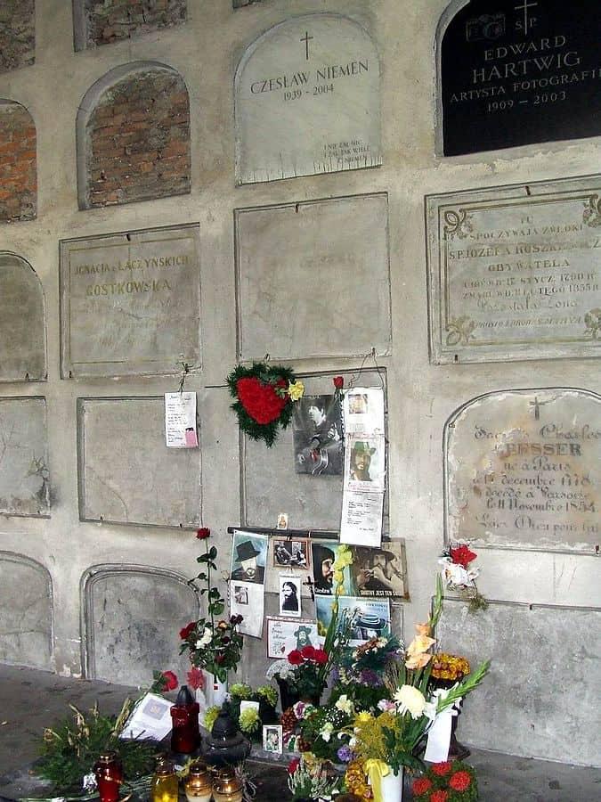 Stare Powązki Czesław Niemen