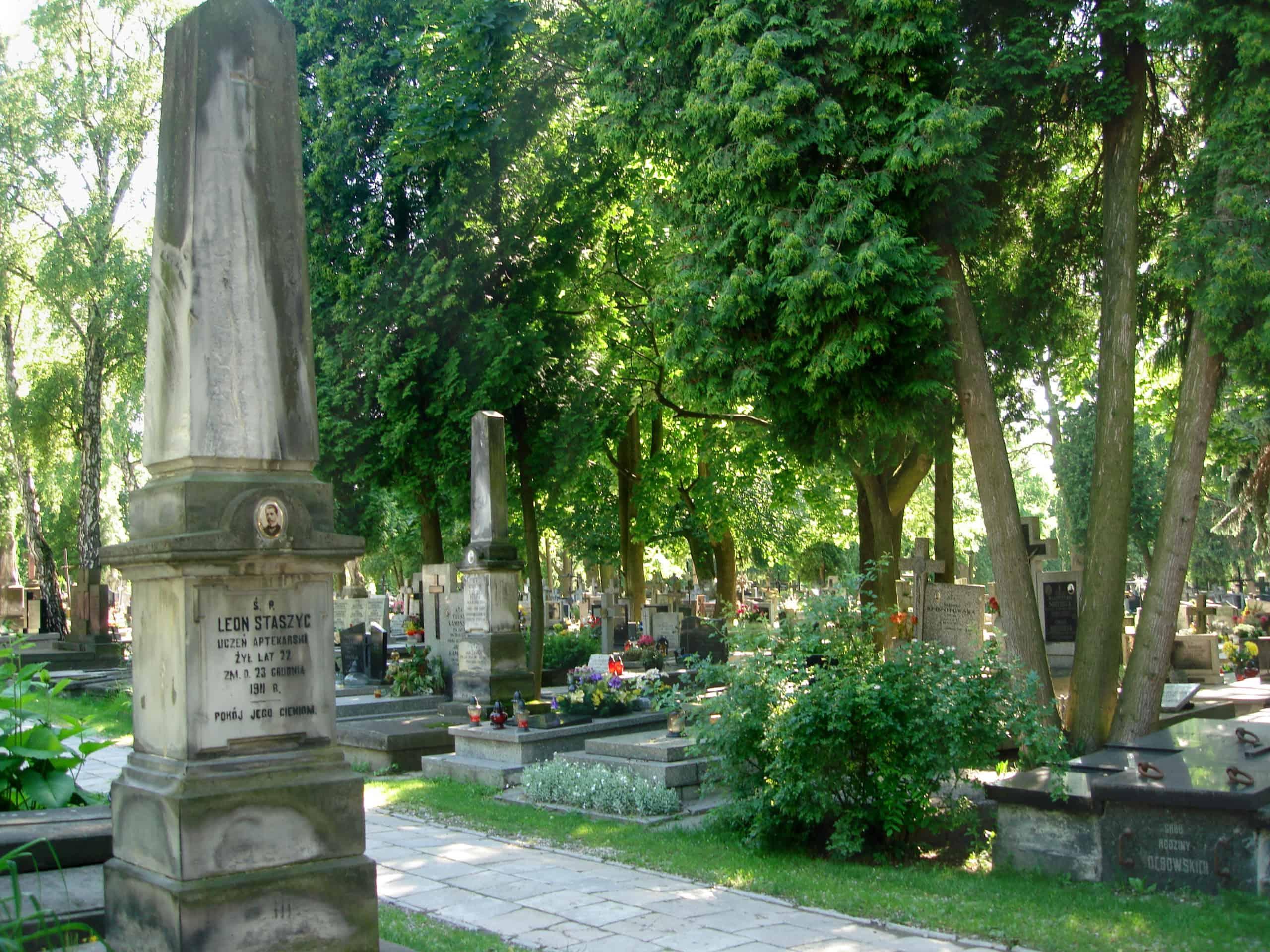 mogliła cmentarz przy ul lipowej lublin