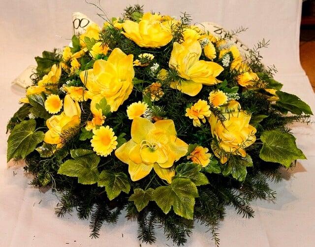 oprawa florystyczna zakład pogrzebowy gloria