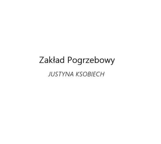 Logo Zakład Pogrzebowy Justyna Ksobiech