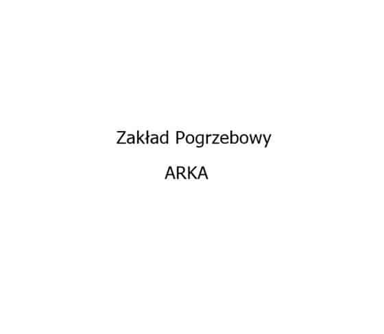 Logo Zakładu Pogrzebowego Arka Rosół