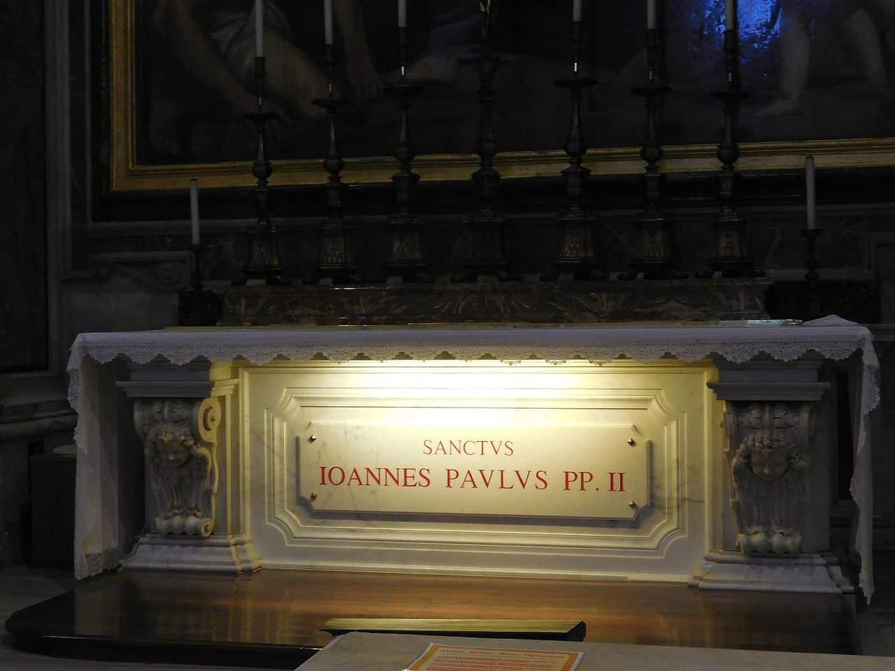 Grób Jana Pawła II Watykan