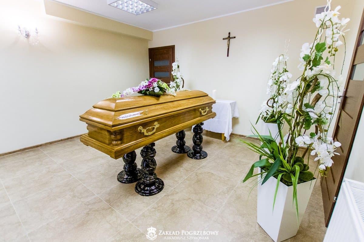 Kaplica pożegnań zakład pogrzebowy arkadiusz szymoniak