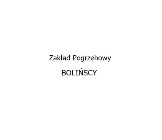Logo Zakładu Pogrzebowego Bolińscy
