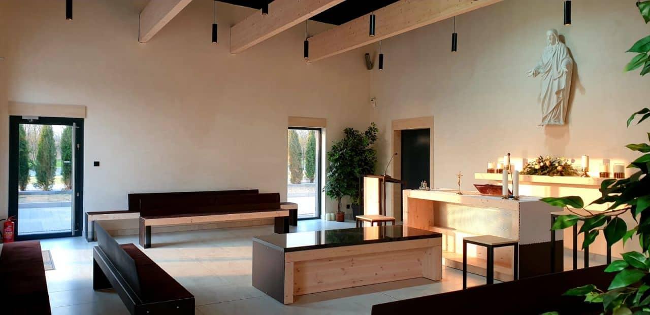 kaplica pożegnalna