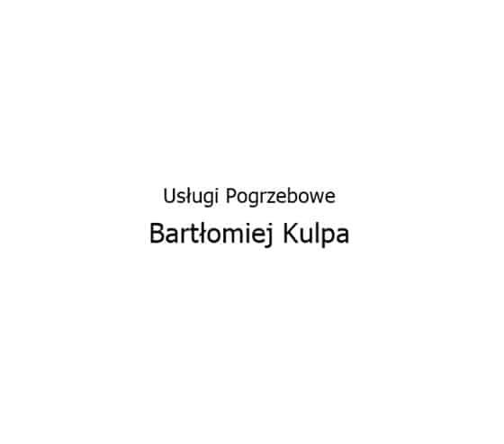 Logo Zakład Pogrzebowy Bartłomiej Kulpa