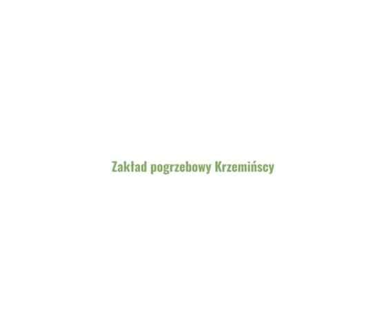 Logo Zakład Pogrzebowy Krzemińscy Świecie