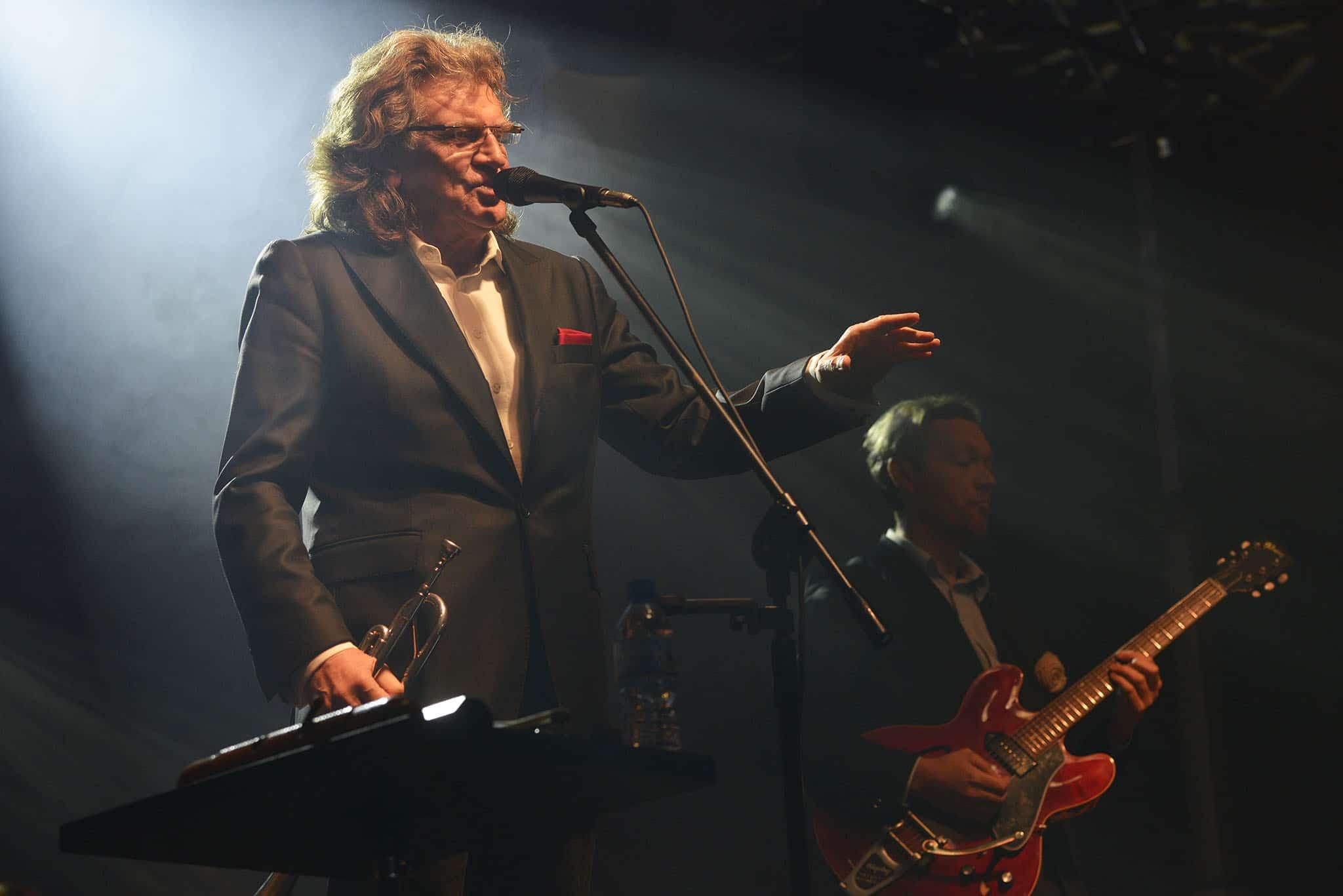 Zbigniew Wodecki podczas konceru