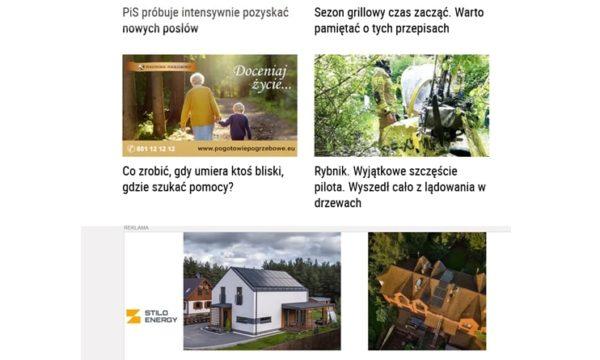 artykuł na wp Pogotowie Pogrzebowe w Wirtualnej Polsce