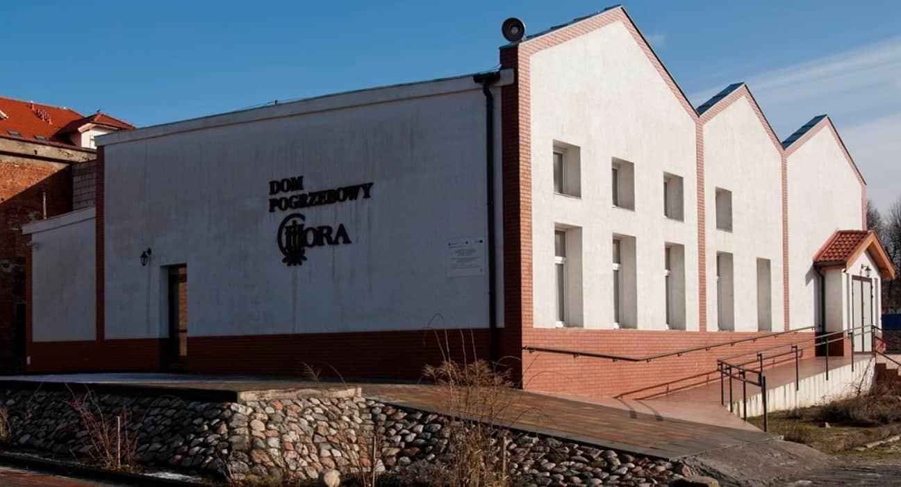 siedziba firmy zakład pogrzebowy hora w braniewie
