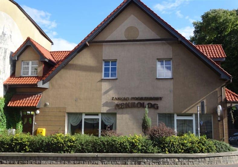 Zakład Pogrzebowy Nekrolog w Wałczu - siedziba firmy