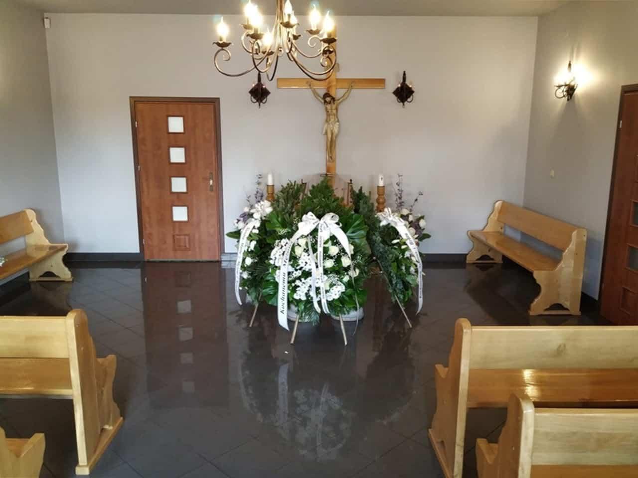 kaplica pożegnalna zakładu pogrzebowego syta z lubartowa
