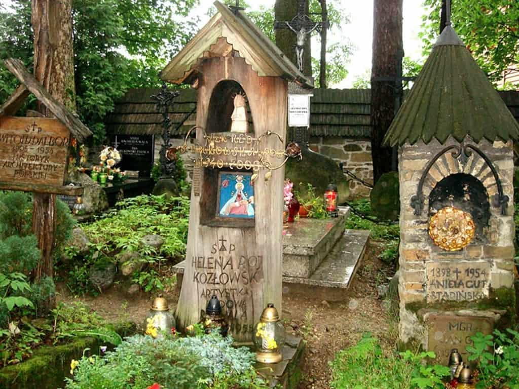 Stary Cmentarz naPęksowym Brzyzku Zakopane