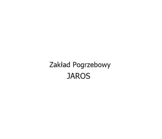 Logo Zakład Pogrzebowy Jaros Hrubieszów