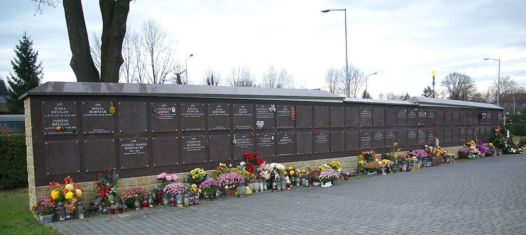 Kolumbarium Cmentarz Centralny wSanoku