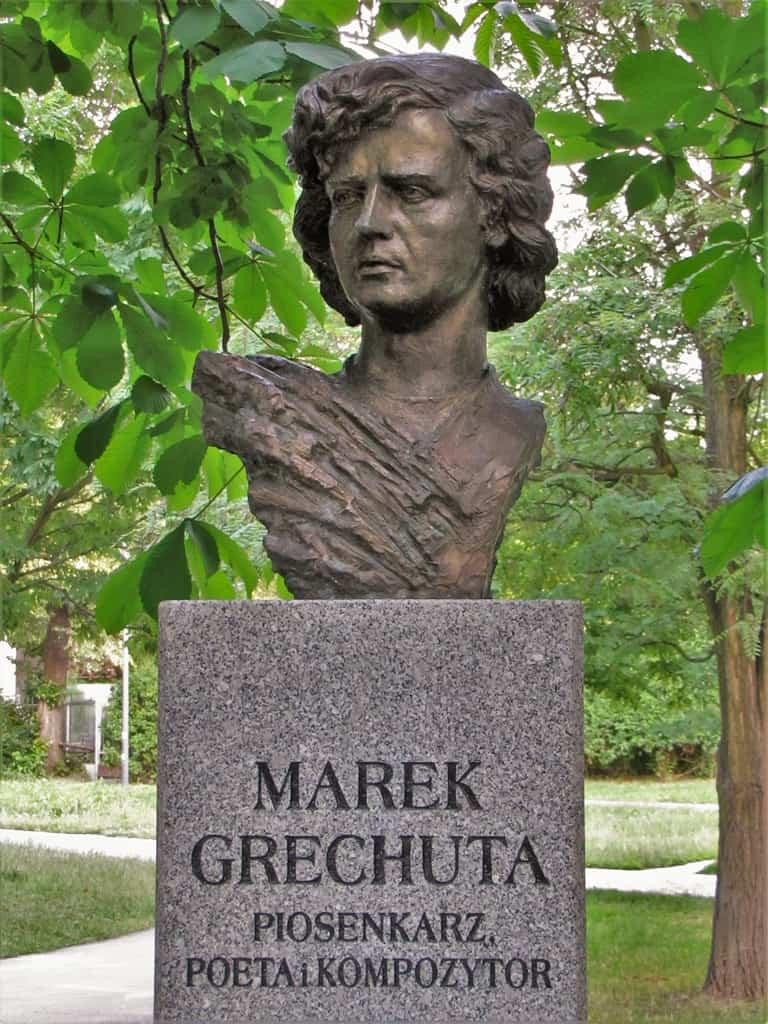 Pomnik Marka Grechuty